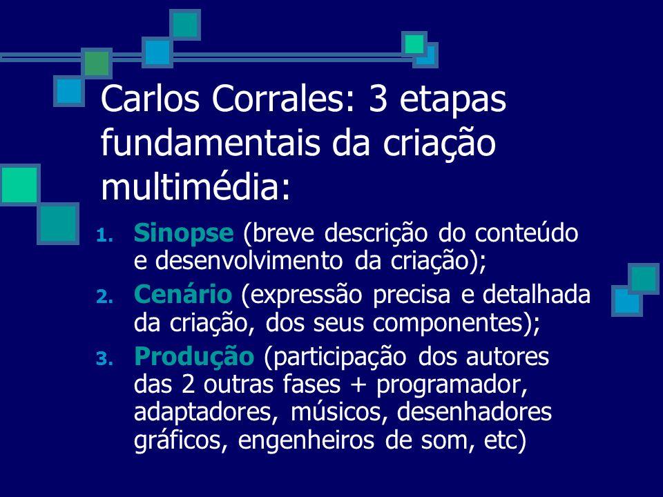 Carlos Corrales: 3 etapas fundamentais da criação multimédia: