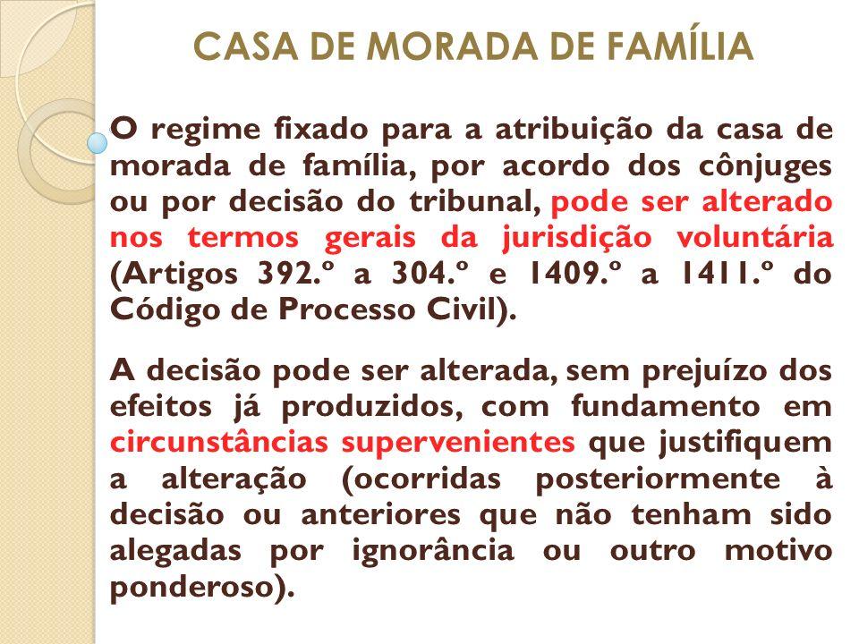 CASA DE MORADA DE FAMÍLIA