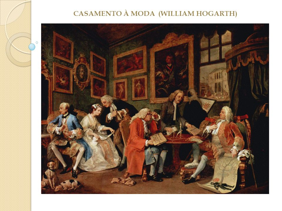 CASAMENTO À MODA (WILLIAM HOGARTH)