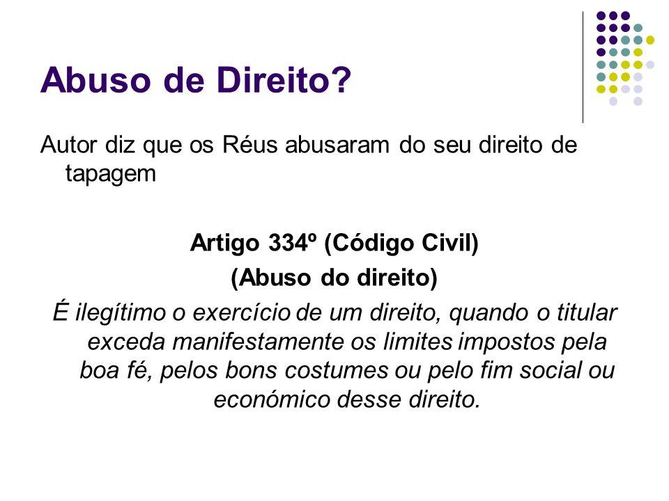 Artigo 334º (Código Civil)