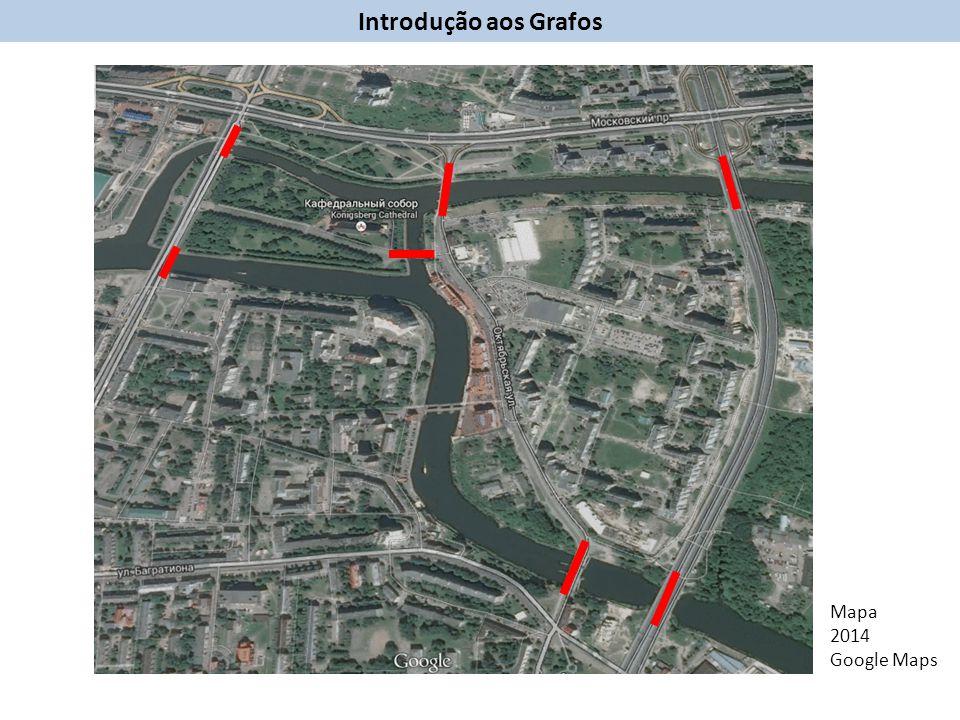Introdução aos Grafos Mapa 2014 Google Maps