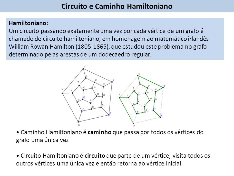 Circuito e Caminho Hamiltoniano