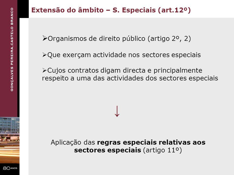 ↓ Organismos de direito público (artigo 2º, 2)