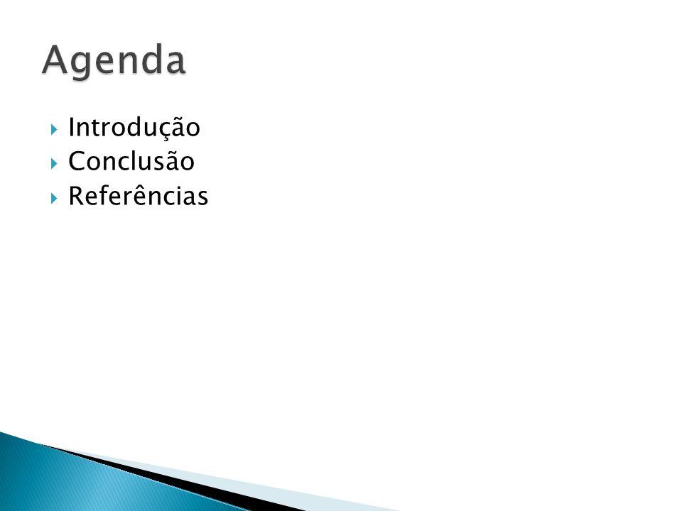 Agenda Introdução Conclusão Referências