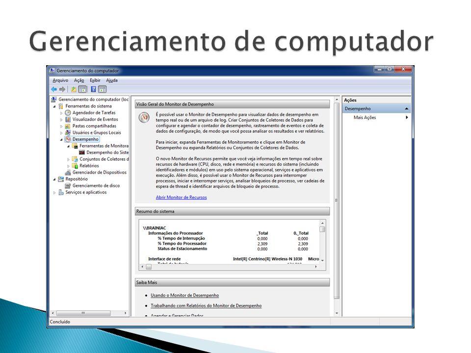 Gerenciamento de computador