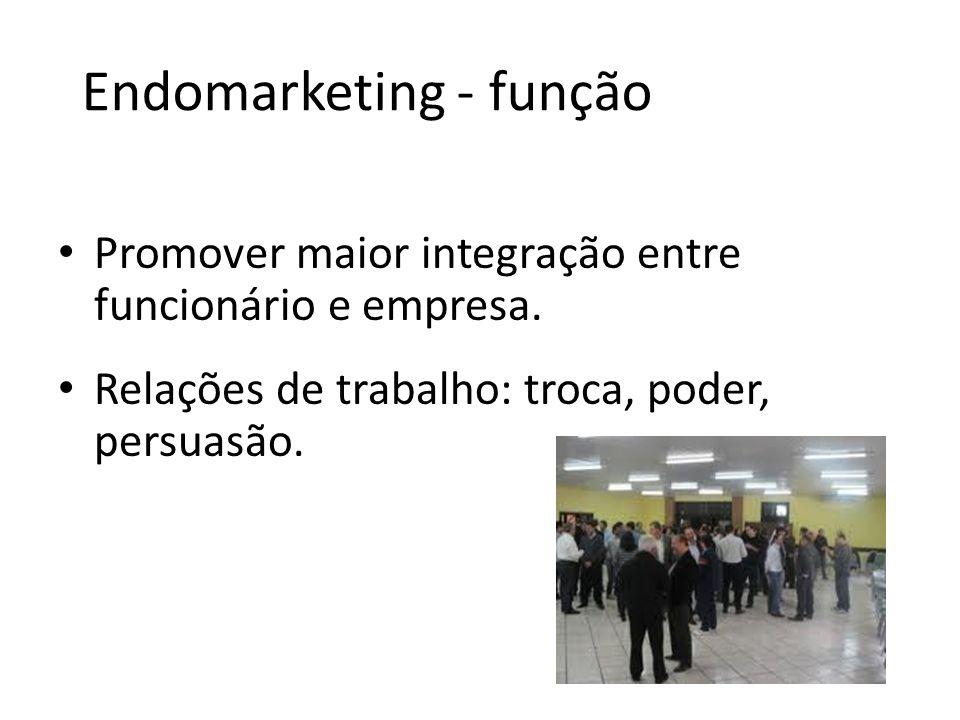 Endomarketing - função