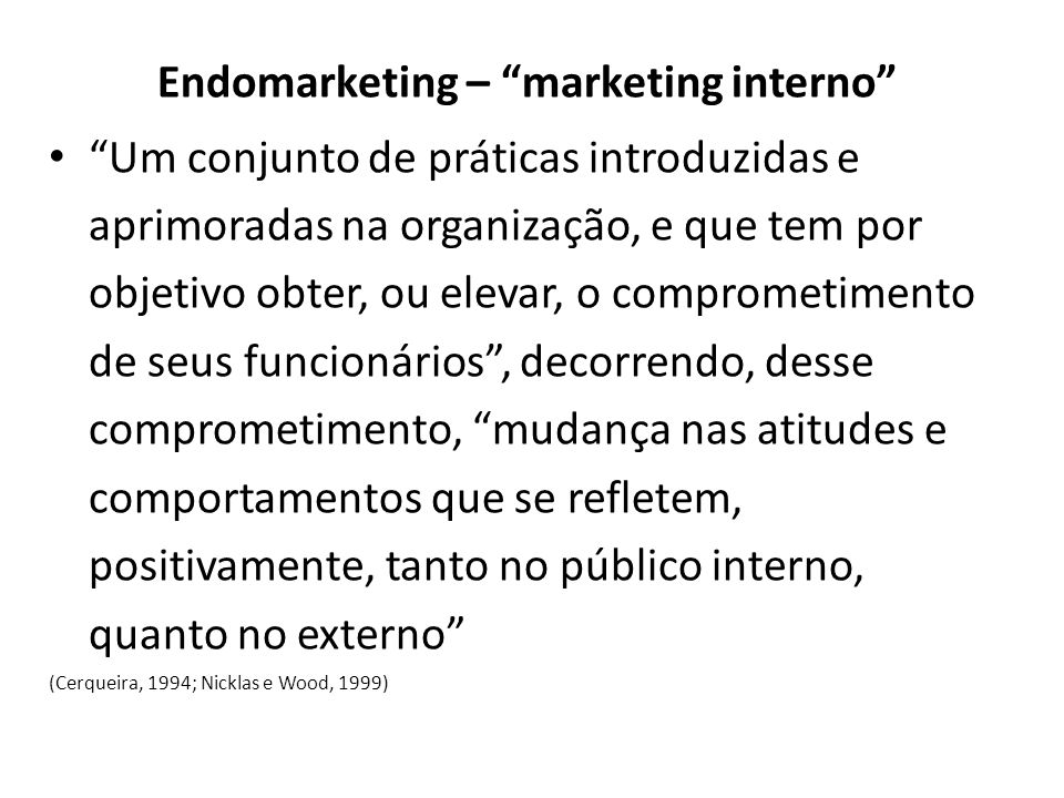 Endomarketing – marketing interno