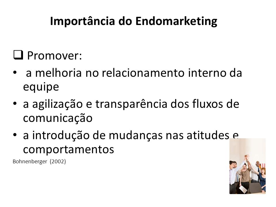 Importância do Endomarketing