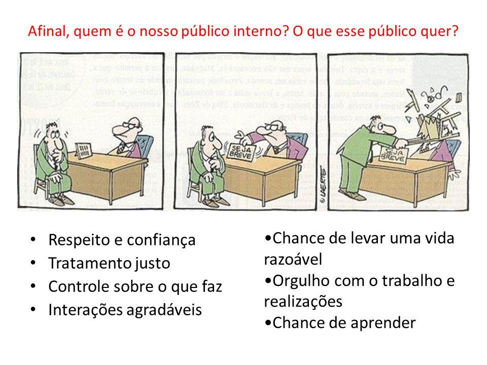 Afinal, quem é o nosso público interno O que esse público quer