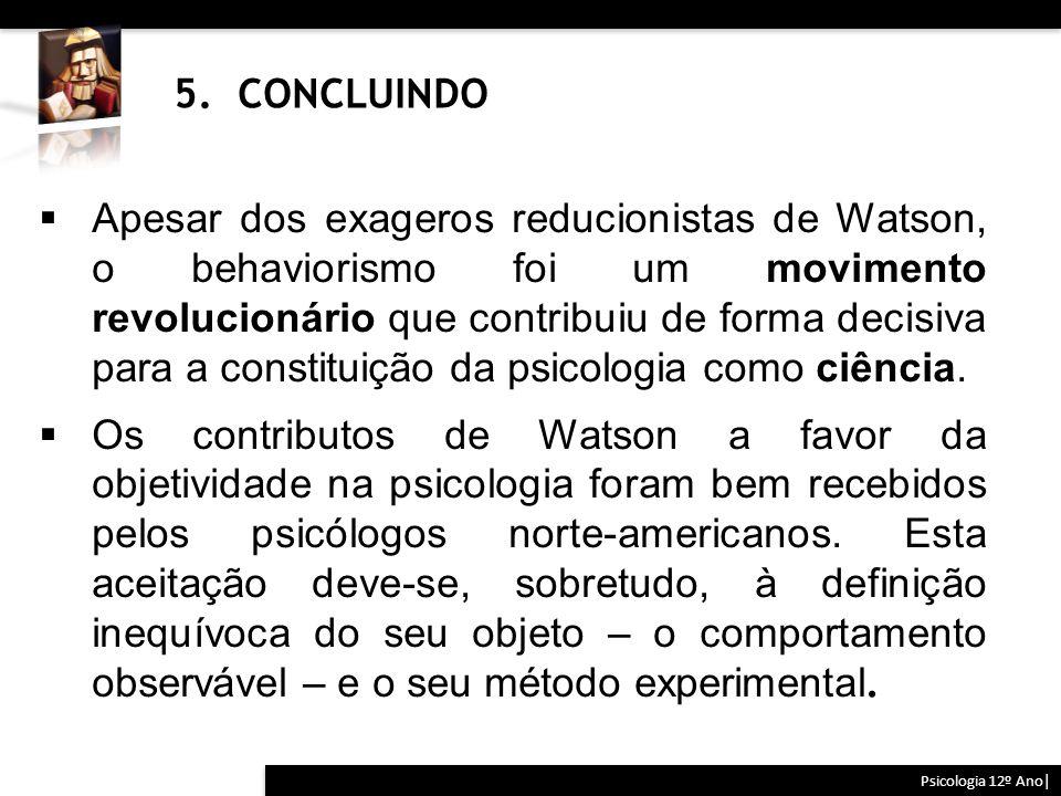 5. CONCLUINDO