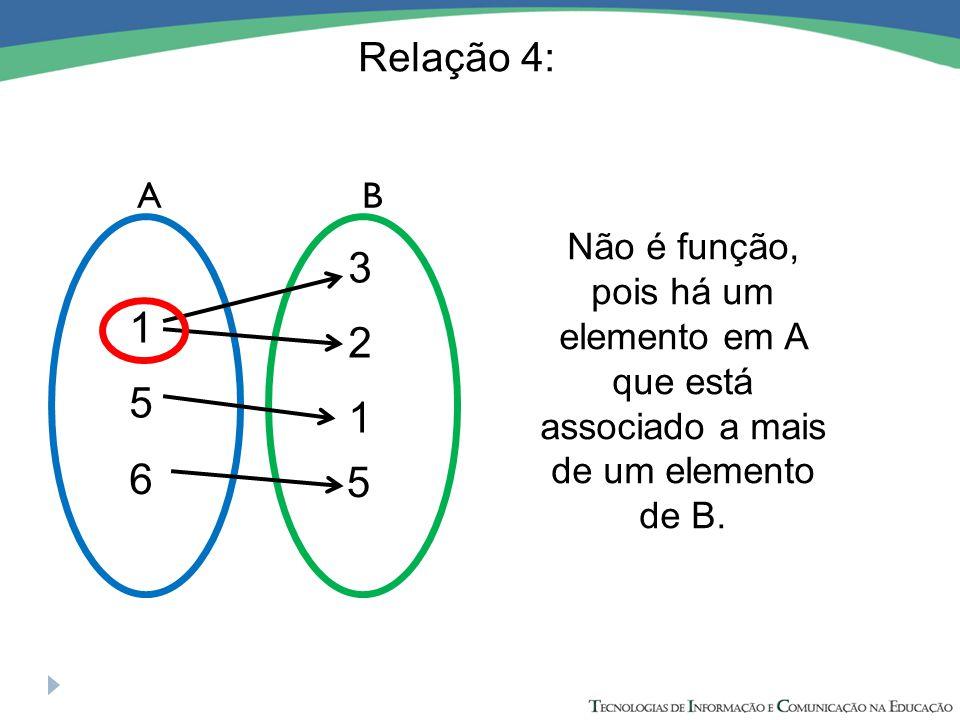 Relação 4: A. B. 3. 1. 2. 5. 1. 6. 5.