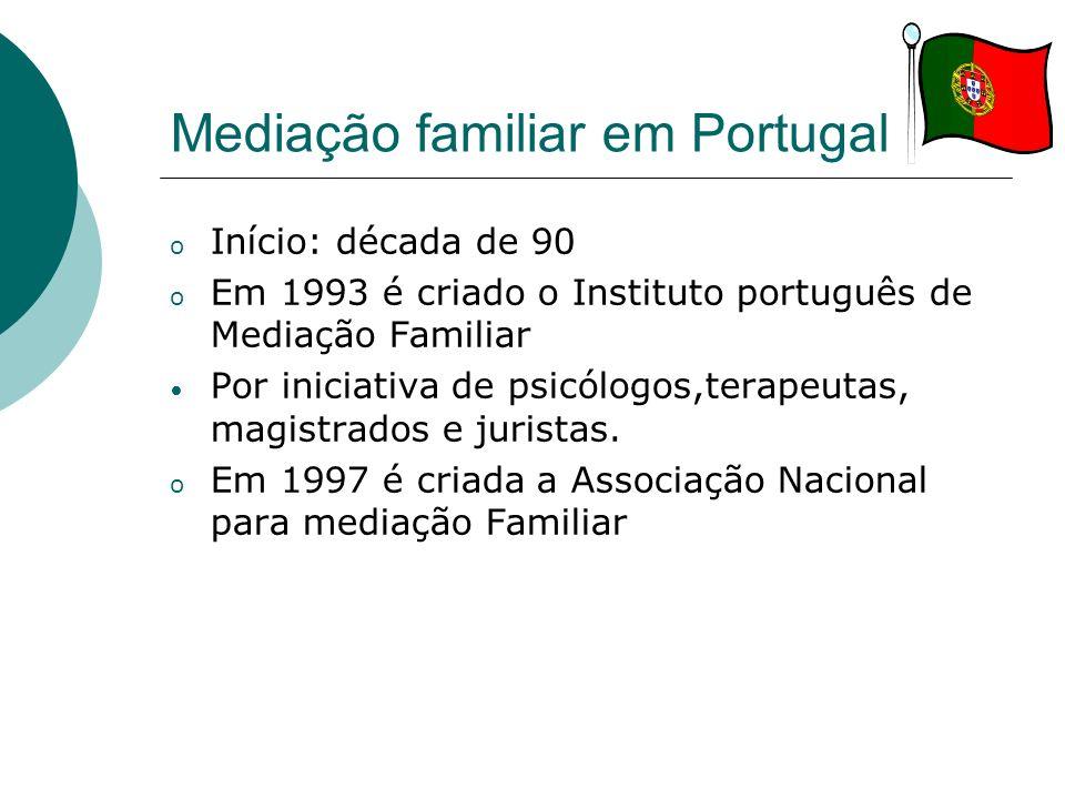 Mediação familiar em Portugal