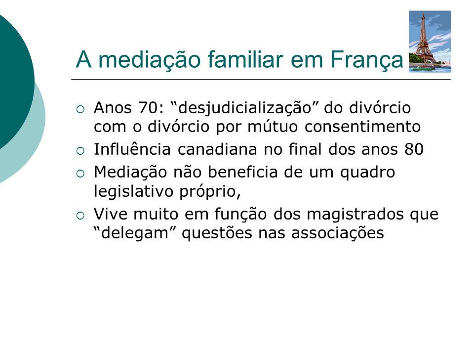 A mediação familiar em França