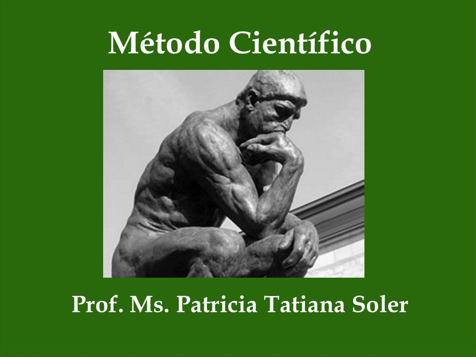 Prof. Ms. Patricia Tatiana Soler