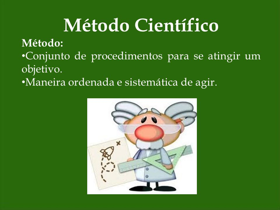 Método Científico Método: