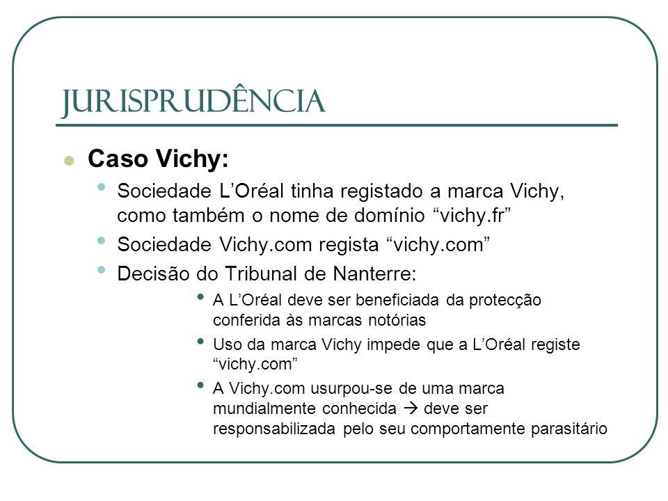 JURISPRUDÊNCIA Caso Vichy: