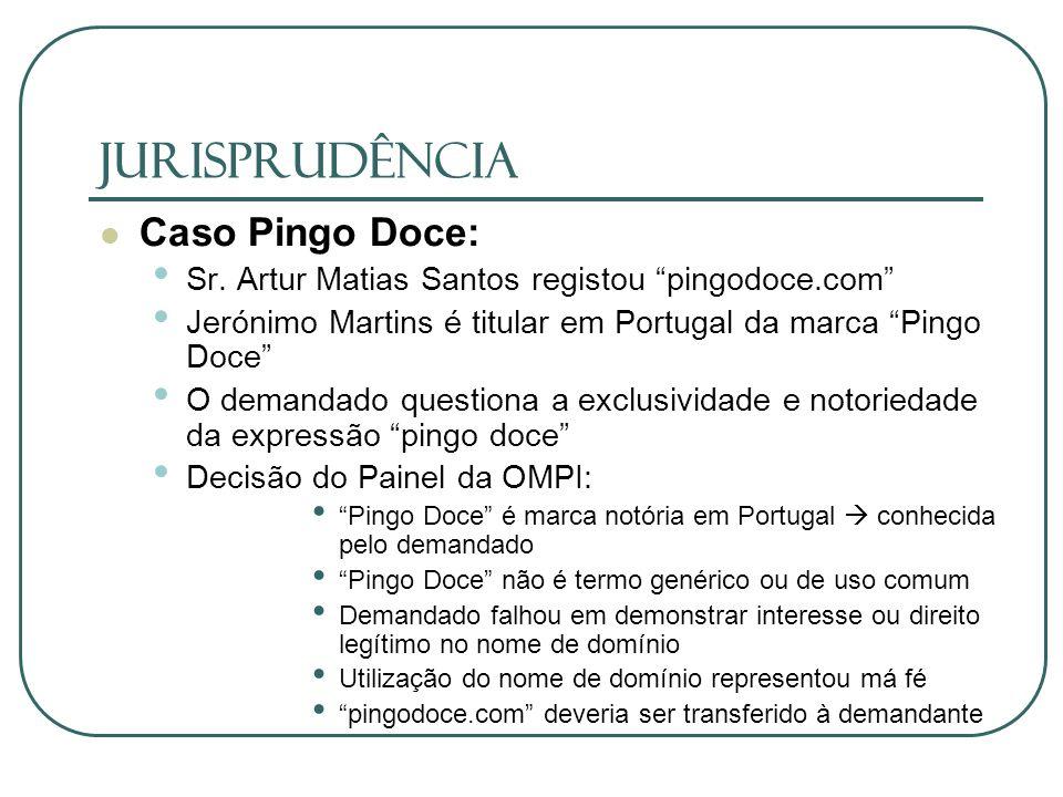 JURISPRUDÊNCIA Caso Pingo Doce: