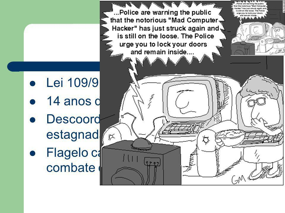 Conclusões....Lei 109/91, 17 de Agosto. 14 anos de vigência. Descoordenada, obsoleta, insuficiente e estagnada.