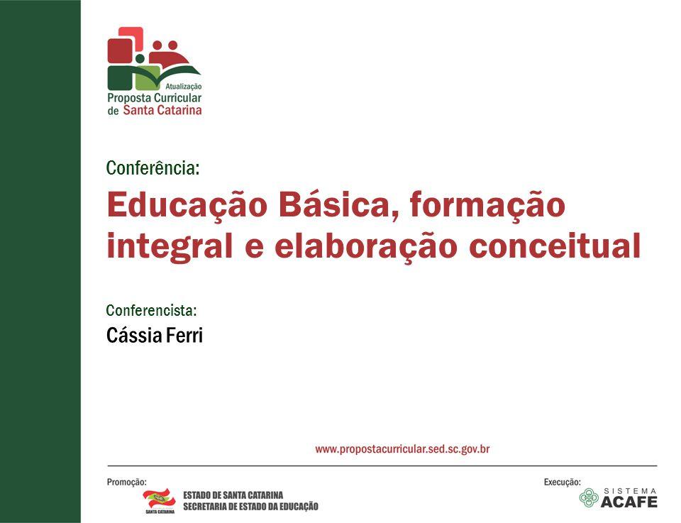 Educação Básica, formação integral e elaboração conceitual