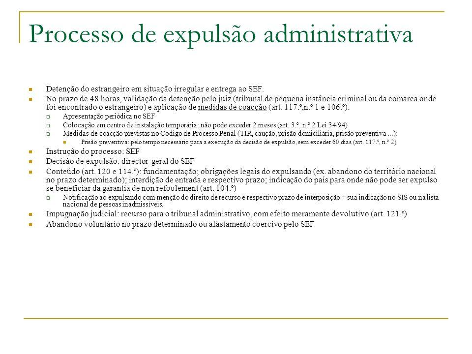 Processo de expulsão administrativa