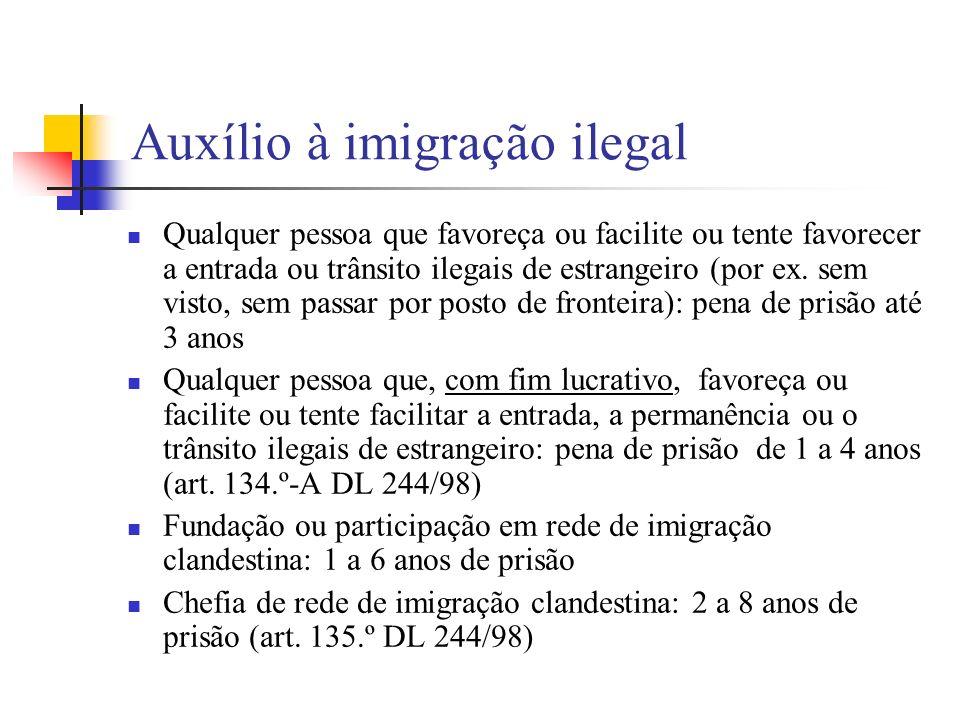 Auxílio à imigração ilegal