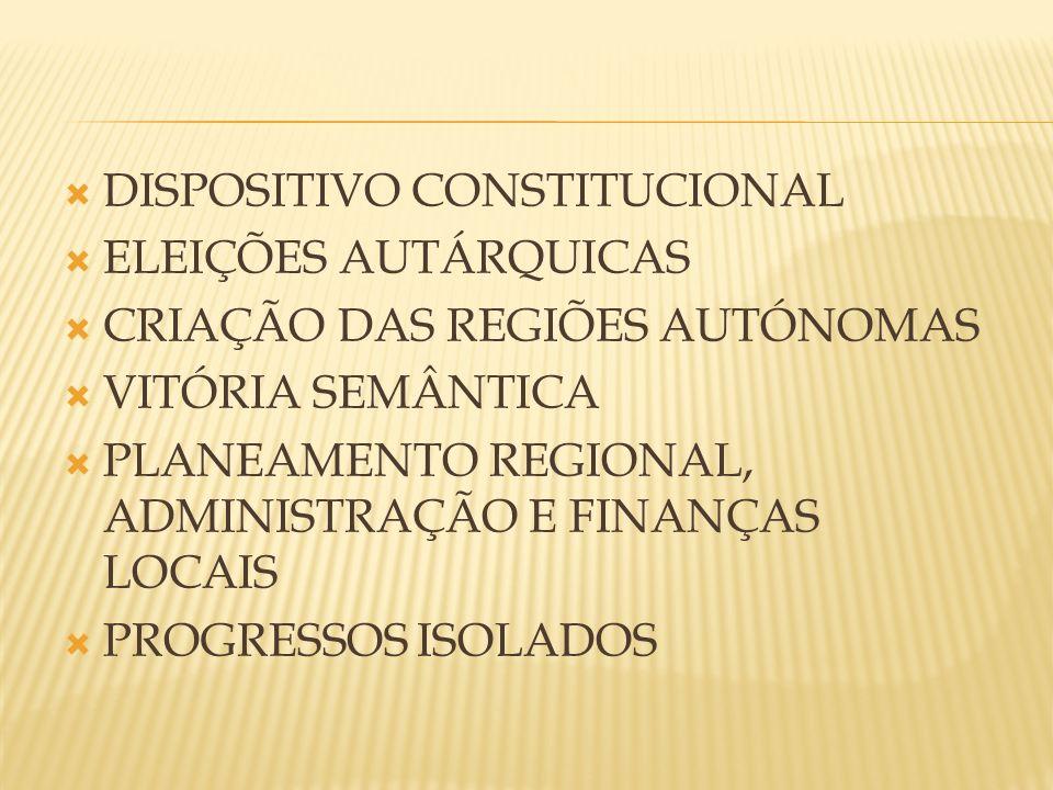 DISPOSITIVO CONSTITUCIONAL