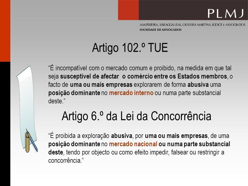 Artigo 6.º da Lei da Concorrência