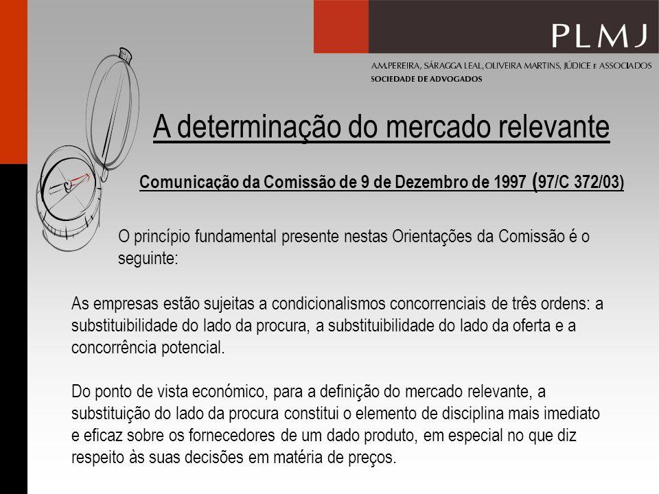 Comunicação da Comissão de 9 de Dezembro de 1997 (97/C 372/03)