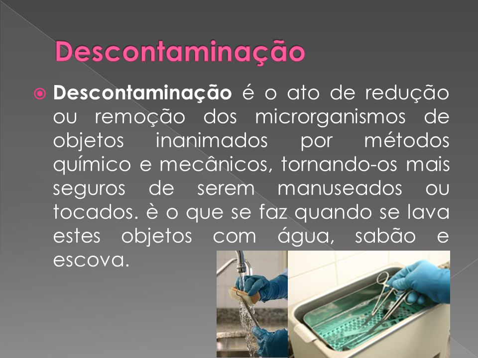 Descontaminação