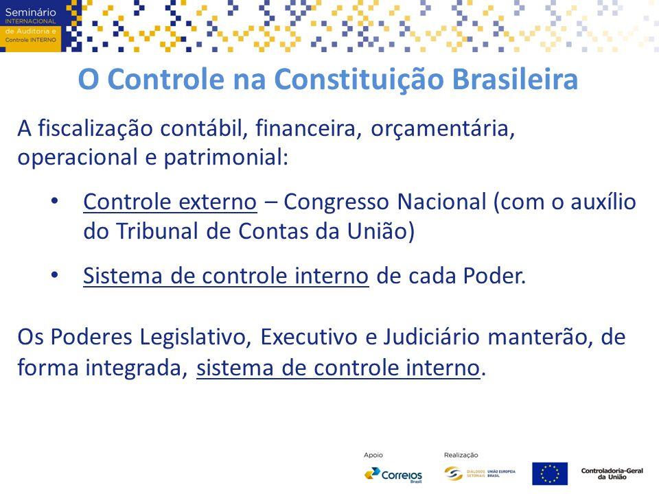 O Controle na Constituição Brasileira