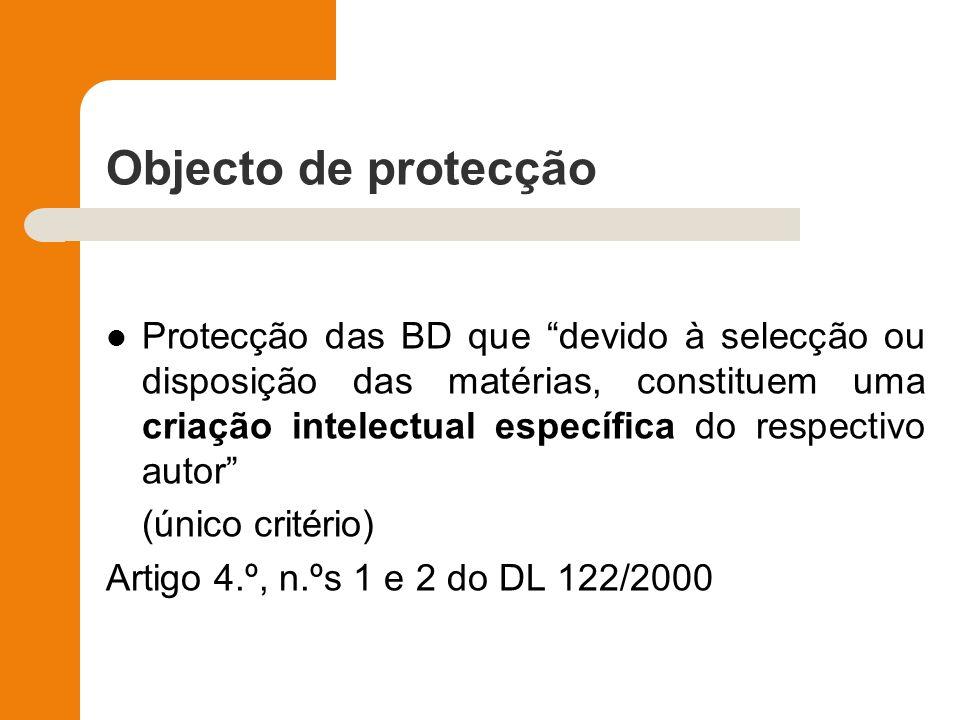 Objecto de protecção