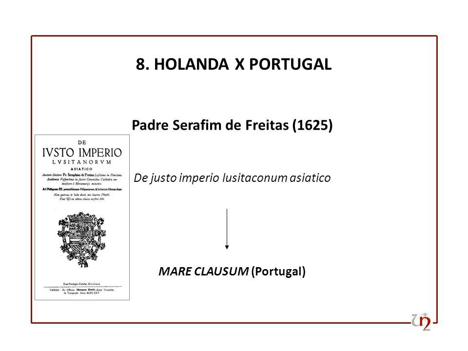 Padre Serafim de Freitas (1625) MARE CLAUSUM (Portugal)