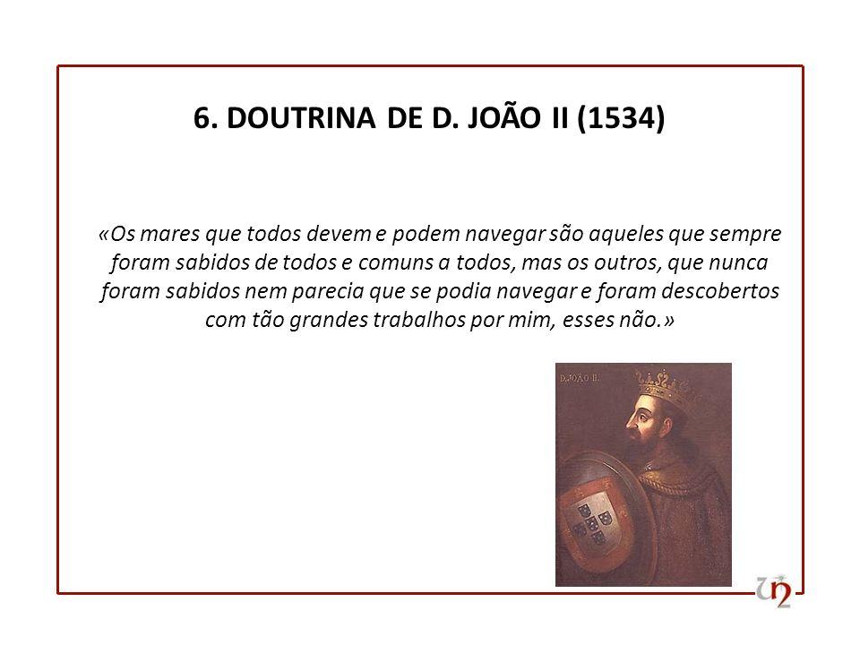 6. DOUTRINA DE D. JOÃO II (1534)