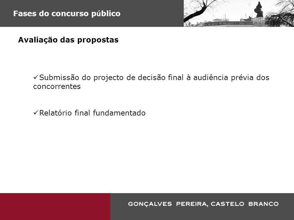 Fases do concurso público