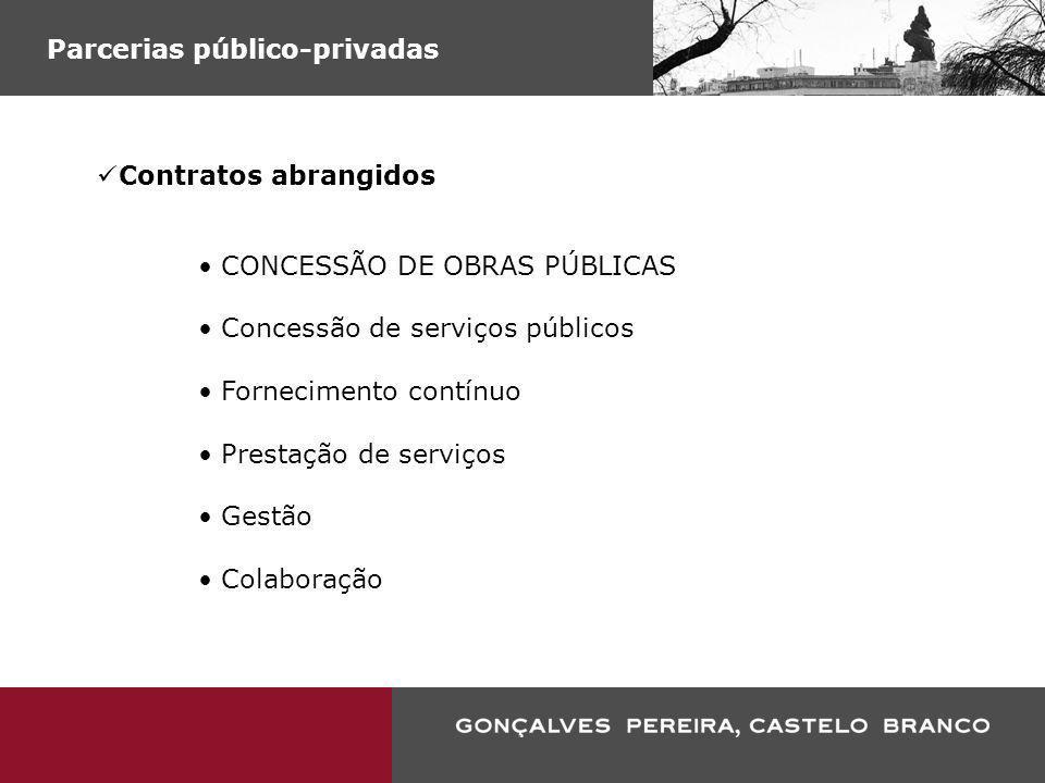 Parcerias público-privadas