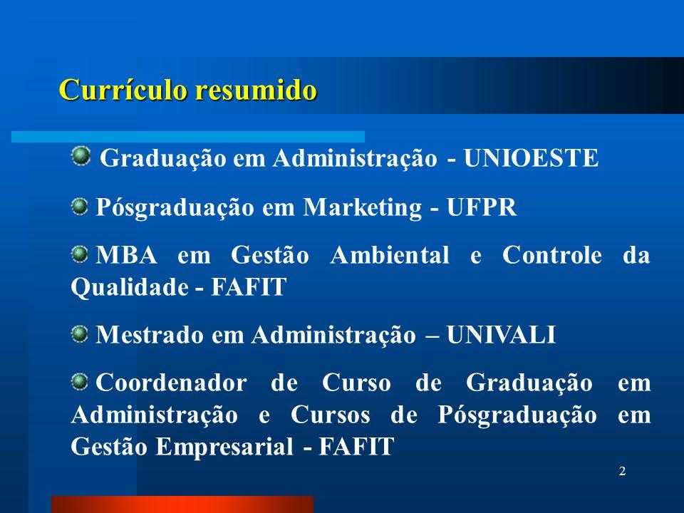 Graduação em Administração - UNIOESTE