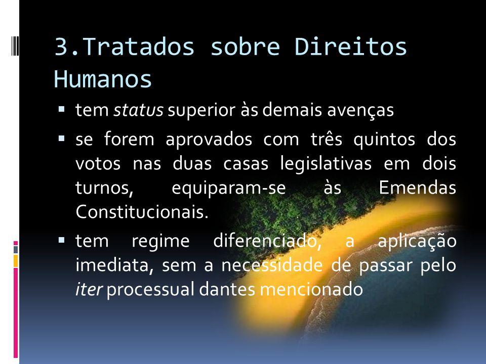 3.Tratados sobre Direitos Humanos