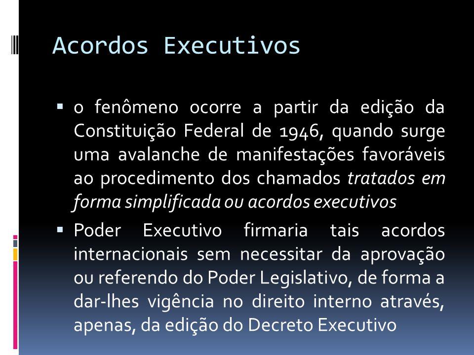 Acordos Executivos