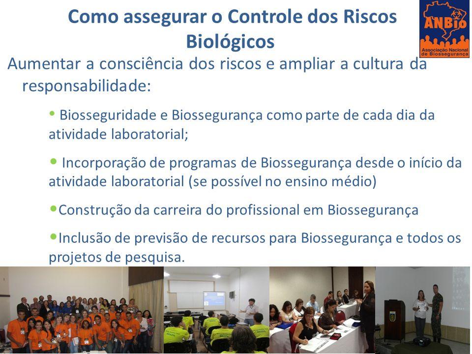 Como assegurar o Controle dos Riscos Biológicos