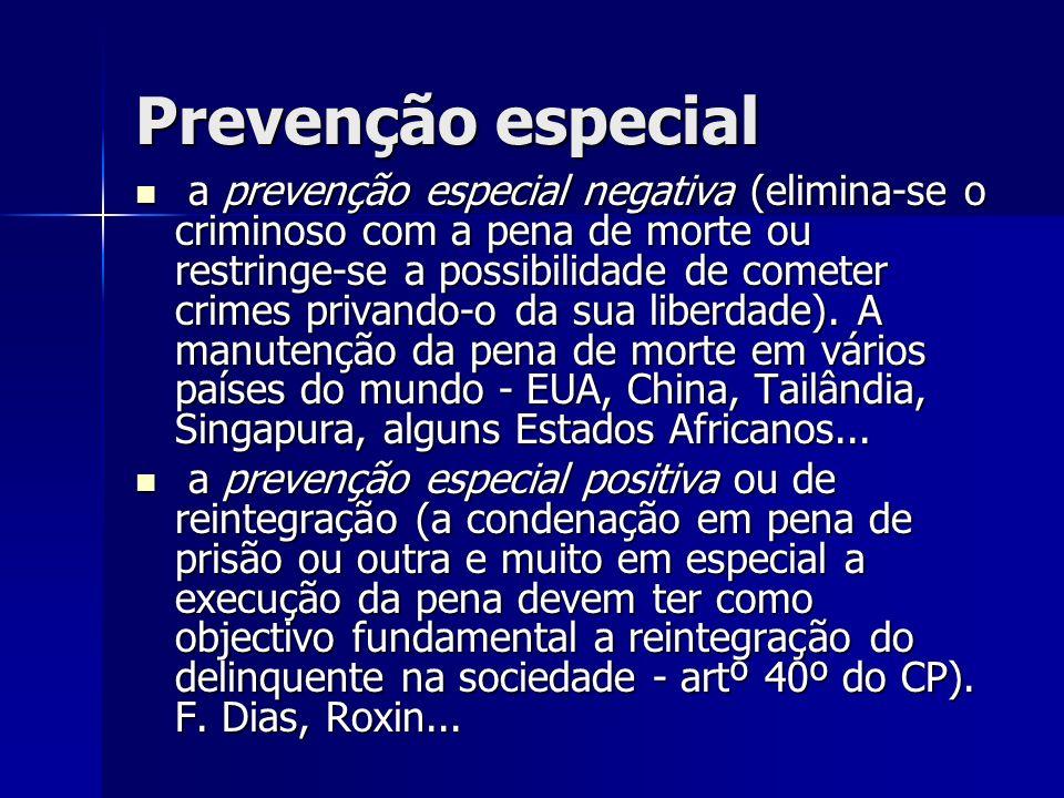 Prevenção especial