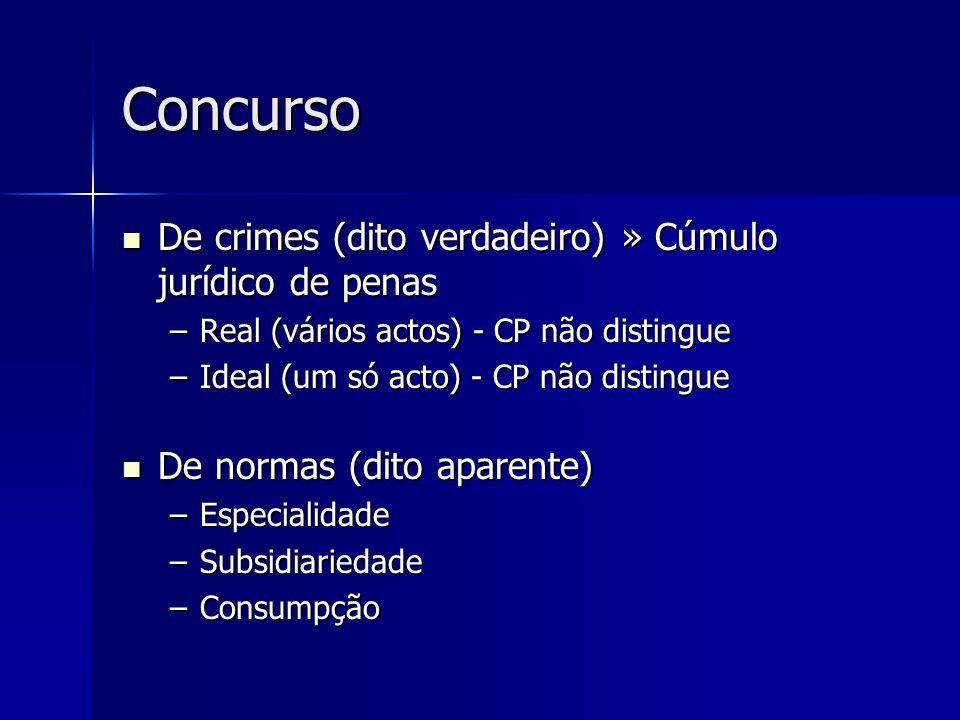 Concurso De crimes (dito verdadeiro) » Cúmulo jurídico de penas