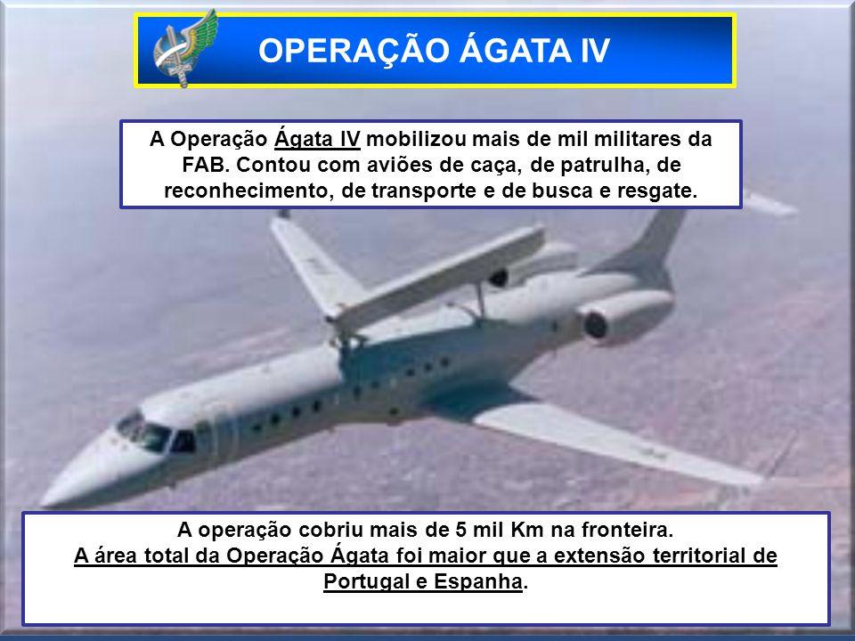 A operação cobriu mais de 5 mil Km na fronteira.