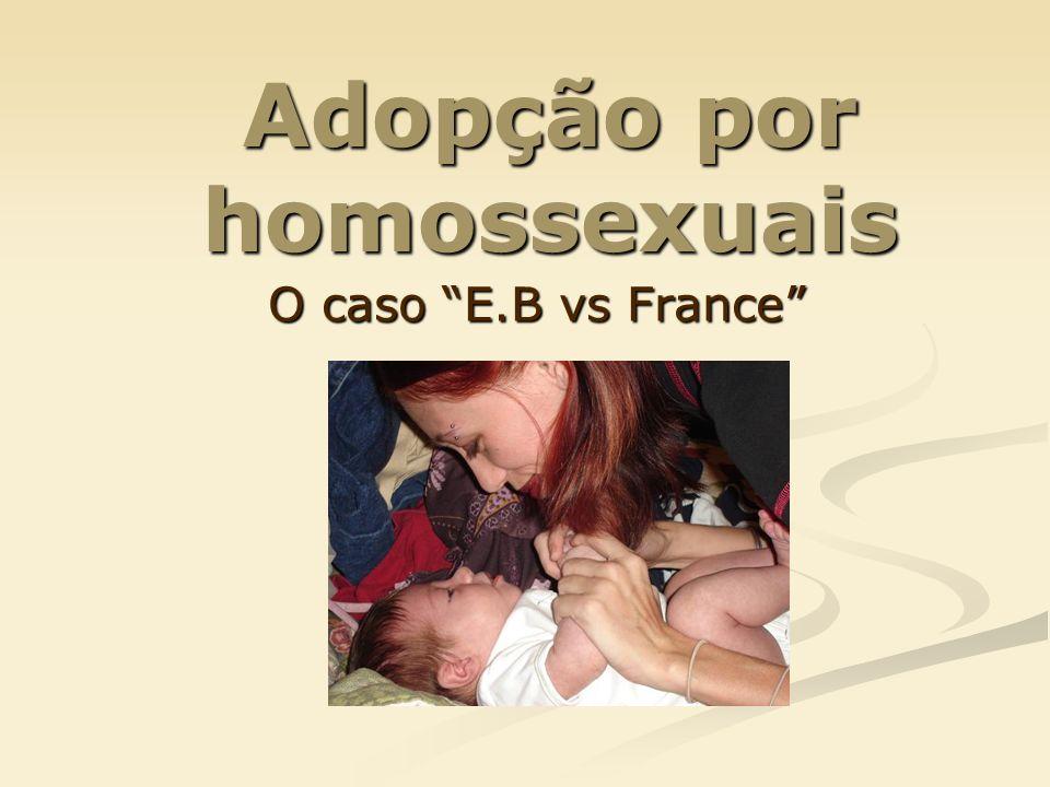 Adopção por homossexuais