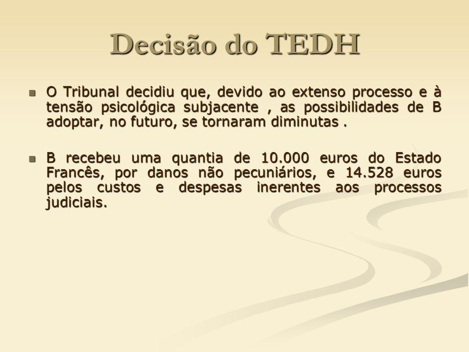 Decisão do TEDH