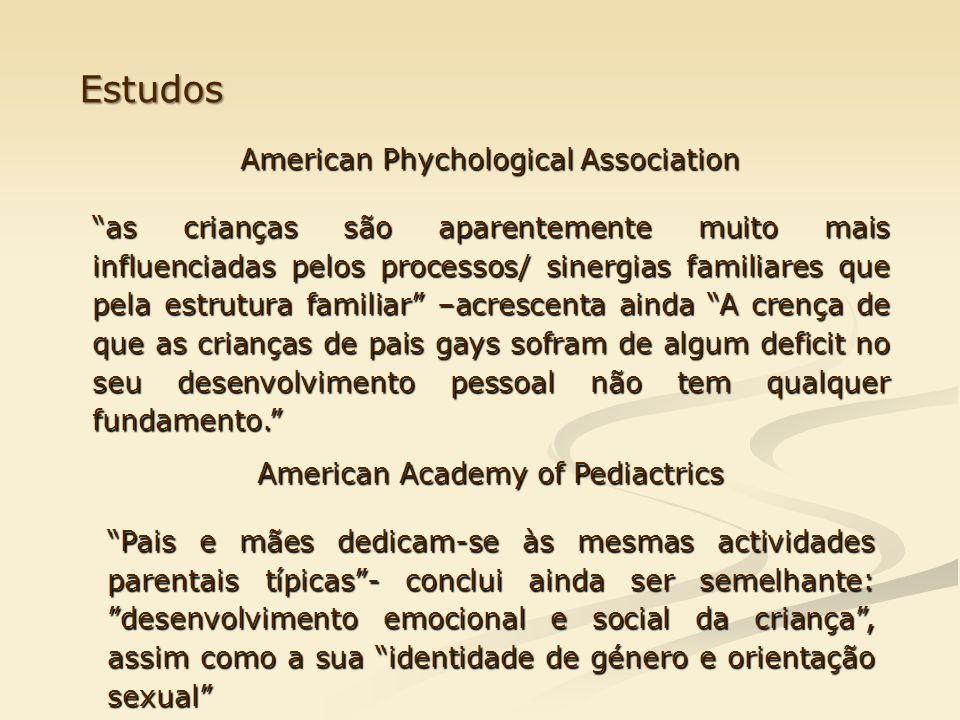 Estudos American Phychological Association