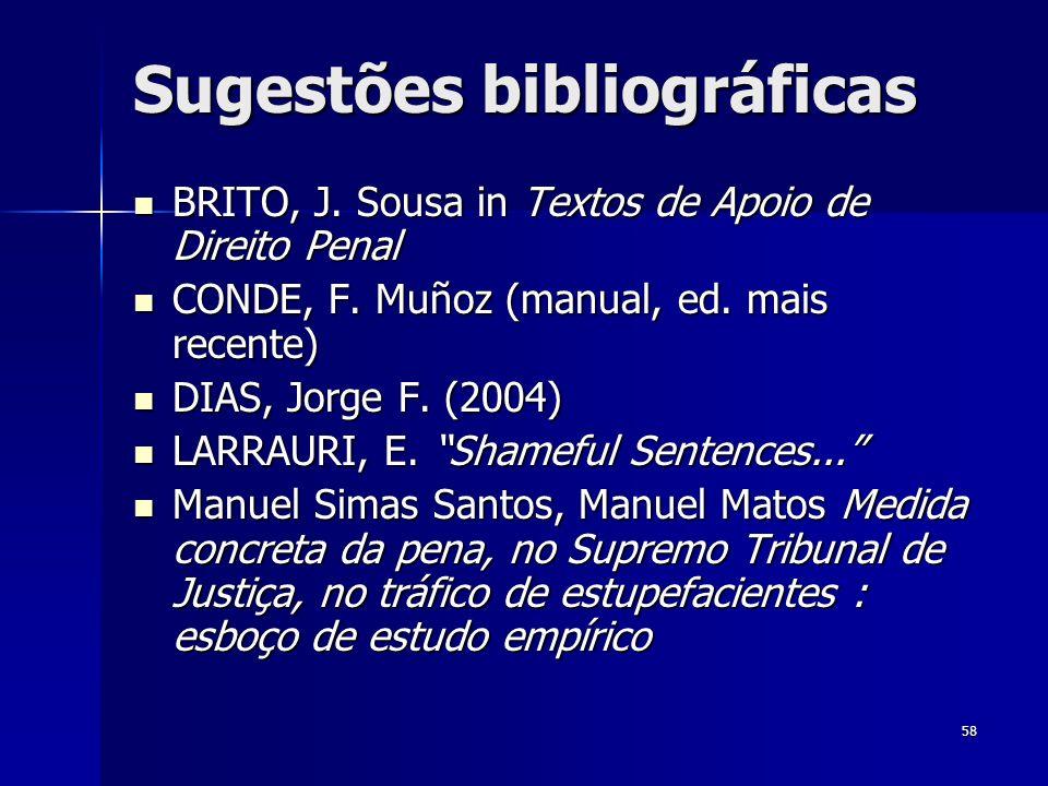 Sugestões bibliográficas