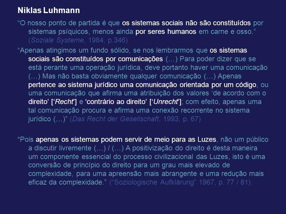 Niklas Luhmann