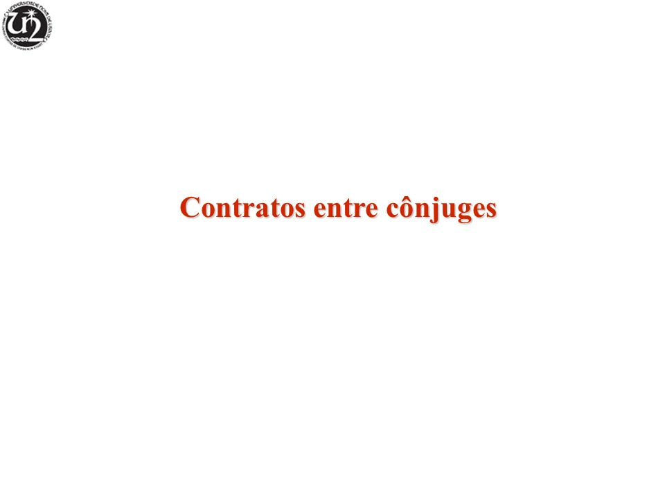 Contratos entre cônjuges