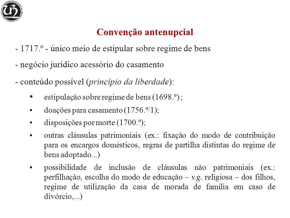 Convenção antenupcial