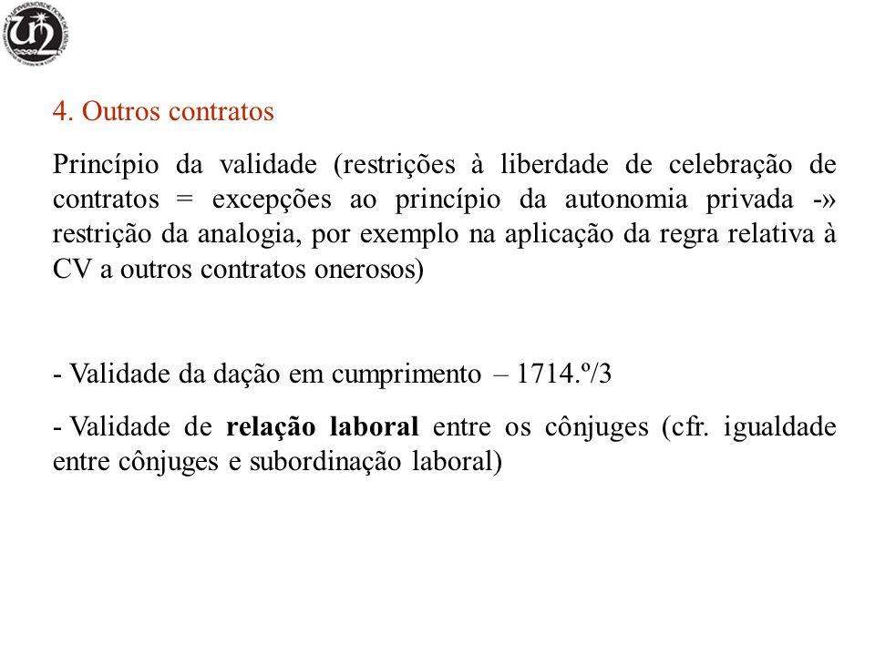 4. Outros contratos